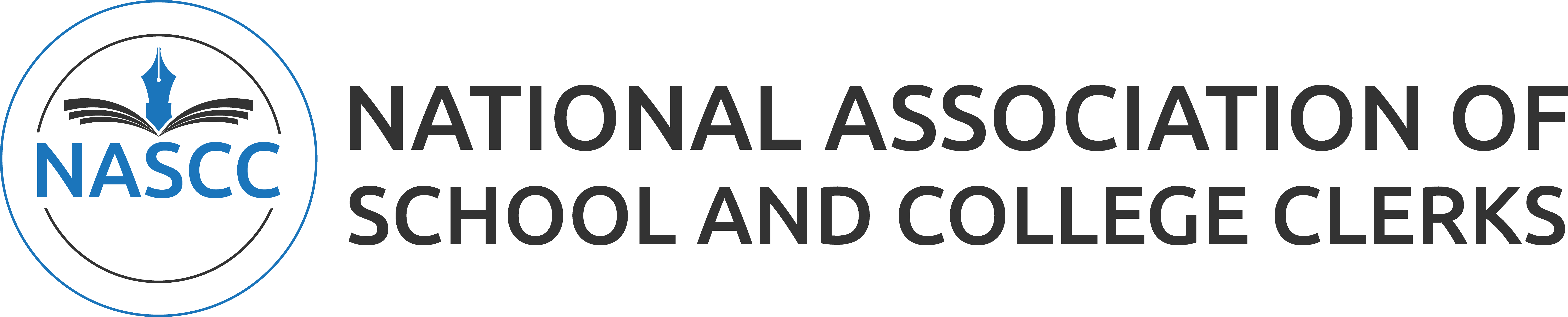 National Association of School and College Clerks website branding