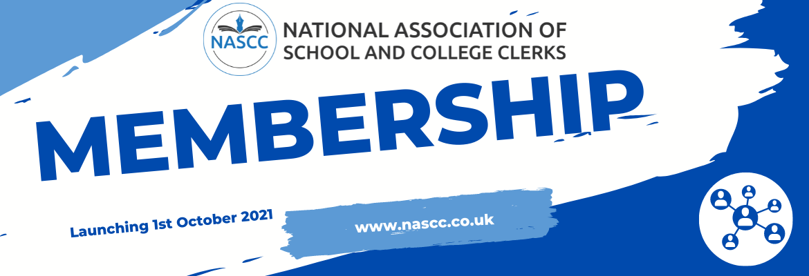 National Association of School and College Clerks (NASCC) - Membership - October 2021